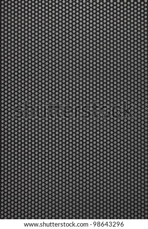 Big size abstract modern grid dark texture with mesh pattern - stock photo