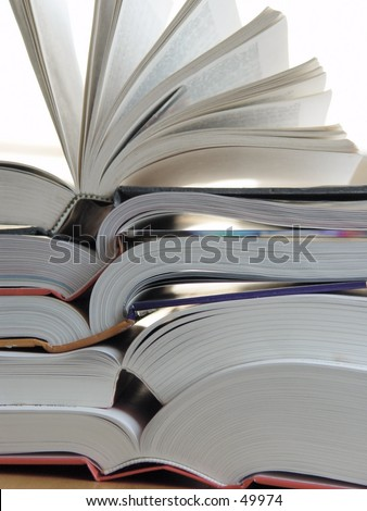 Big stack of books