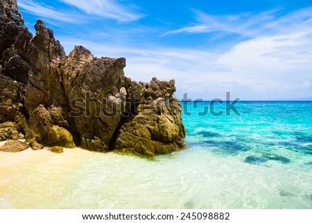 Big Stones Lagoon View  - stock photo