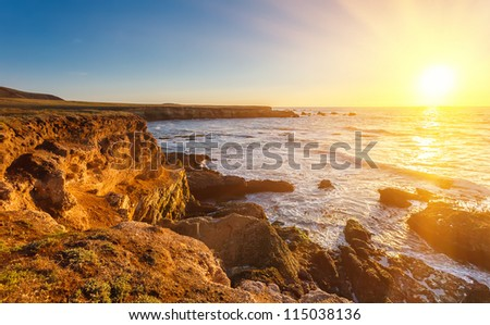 Big Sur, California - stock photo