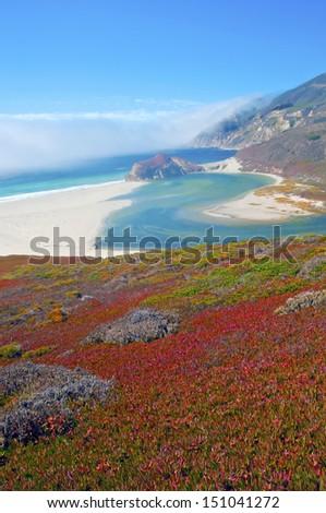 Big Sur Coastline, California - stock photo