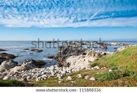 Big Sur, Pacific Ocean coast, California - stock photo
