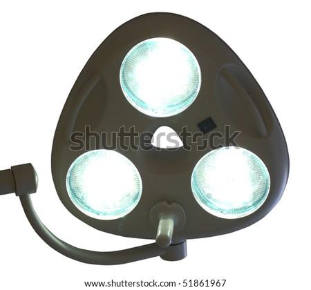 Big surgical lamp - stock photo