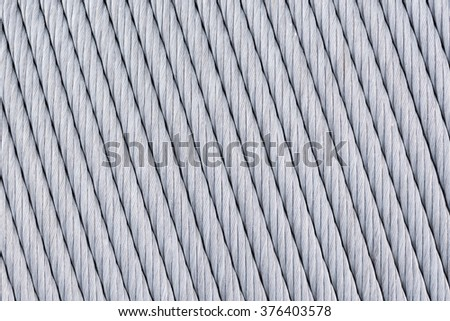 Big Thick Metal Wire Wound On Stock Photo 376403578 - Shutterstock
