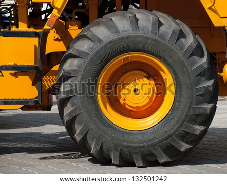 Tractor tire stock photos images pictures shutterstock for Big tractor tires for free