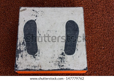 biggest weight station - stock photo