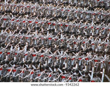 Bike park - stock photo
