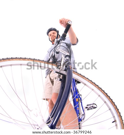 biker - stock photo