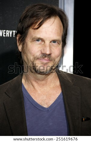 "Bill Paxton at the Los Angeles premiere of ""Captain Phillips"" held at the Academy of Motion Picture Arts and Sciences in Beverly Hills on September 30, 2013 in Los Angeles, California.  - stock photo"