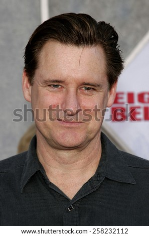 "Bill Pullman attends the World Premiere of ""Eight Below"" held at the El Capitan Theater in Hollywood, California on February 12, 2006.  - stock photo"