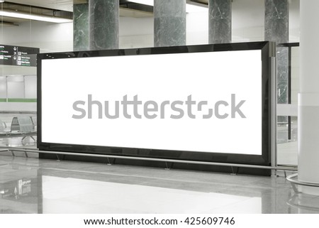Billboard  - stock photo