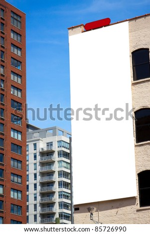 Billboard - Urban Design - stock photo