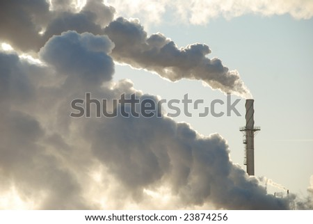 Billowing Pollution