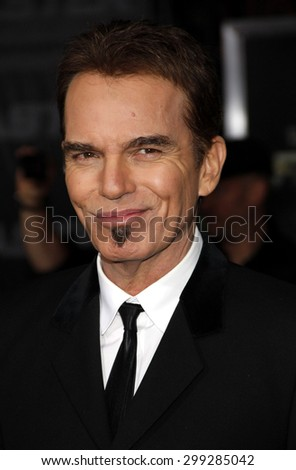 "Billy Bob Thornton at the Los Angeles premiere of 'Faster"" held at the Grauman's Chinese Theater in Hollywood on November 22, 2010. - stock photo"