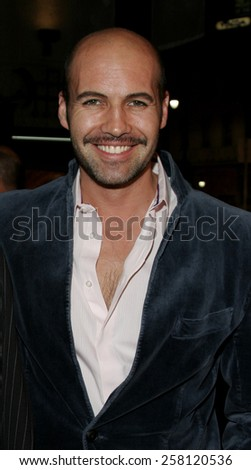 "Billy Zane attends The Romar Entertainment Los Angeles Premiere of ""Bloodrayne"" held at The Mann's Chinese Theater in Hollywood, California on January 4, 2006.  - stock photo"