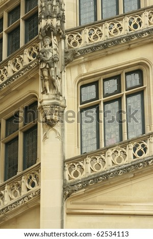 Biltmore Estate Architecture Detail - stock photo