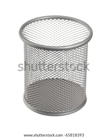 bin isolated on a white background