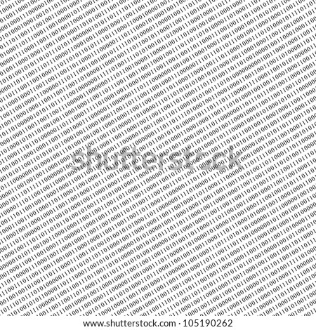 binary code as abstract texture or background - stock photo