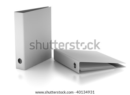 Binder - stock photo