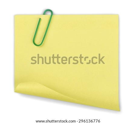 Binder Clip, Paper Clip, Paper. - stock photo