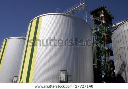 bio fuel - stock photo