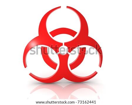 Biohazard concept - stock photo