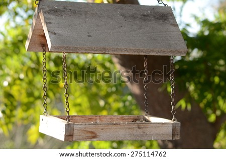 Bird House Hanging from a Tree - stock photo