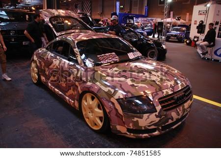 ... Car Show on July 5, 2008 in Birmingham, England, UK. Birmingham NEC is