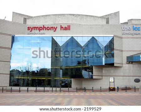 Birmingham Symphony Hall - stock photo