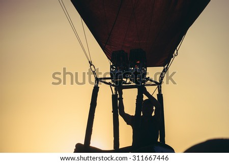 BIRSTONAS, LITHUANIA - JULY 04:  Pre-championship event of FAI Women's World Hot Air Balloon Championship 2016 on July 04, 2015, Birstonas, Lithuania