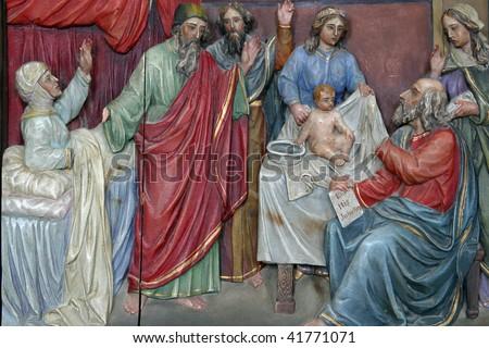 Birth of John the Baptist - stock photo