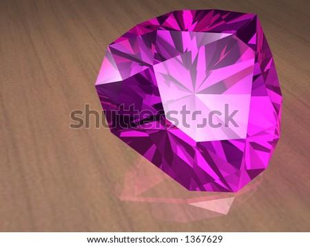 Birthstone for September- Sapphire - stock photo