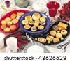 Biscuits & Cookies - stock photo