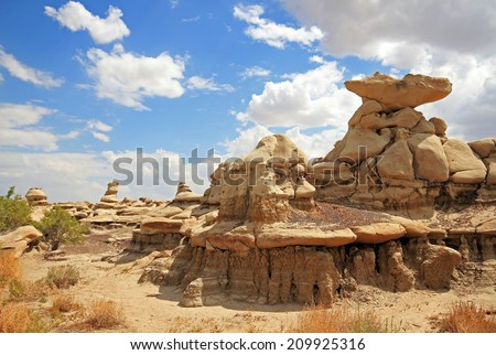 Bisti Badlands (De-Na-Zin Wilderness), New Mexico, USA