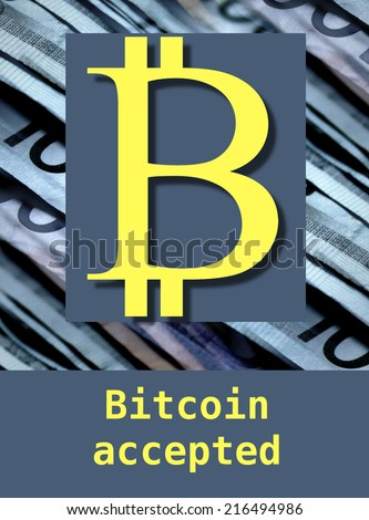 bitcoin - stock photo