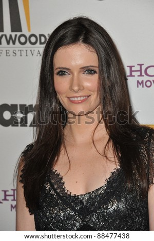 Bitsie Tulloch at the 14th Annual Hollywood Awards Gala at the Beverly Hilton Hotel. October 25, 2010  Beverly Hills, CA Picture: Paul Smith / Featureflash