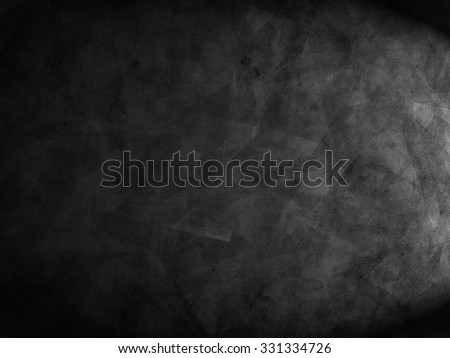 Black abstract background. Grunge background