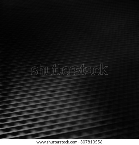 black abstract background modern graphic element metallic grid pattern, corporate background brochure template - stock photo