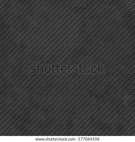 Black abstract background with subtle delicate grunge texture, striped seamless pattern of plastered wall, linen embossed surface in shades of dark gray color - stock photo