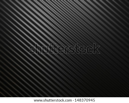 Black abstract metall background with riffle texture