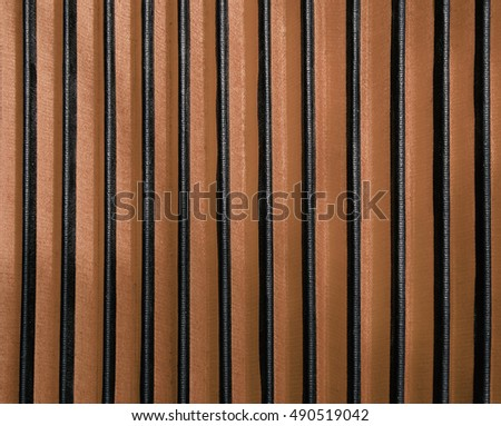 Black and Brown Stripes