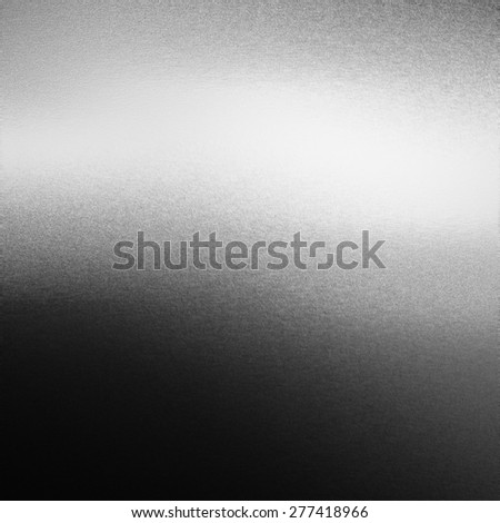 black and white abstract background chrome metal texture - stock photo