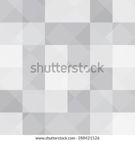 Black and White Abstract Psychedelic Art Background.  Illustration.  - stock photo