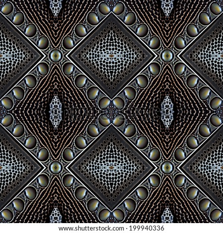Black and white background made of great argus bird's feathers in nice pattern - stock photo