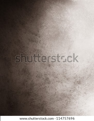 black and white background with black distressed vintage grunge background texture design of marbled gradient gray paint background of abstract grungy cement wall of urban monochrome background layout - stock photo