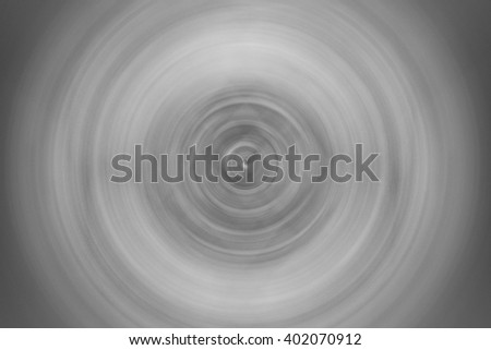 Black and white blur  circle steel plate abstract background