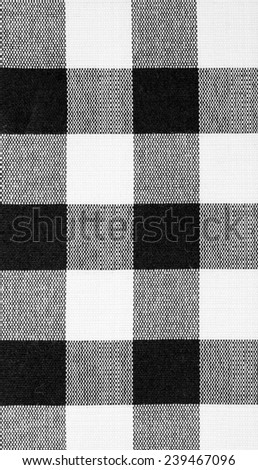 Black and white Cloth Background - stock photo