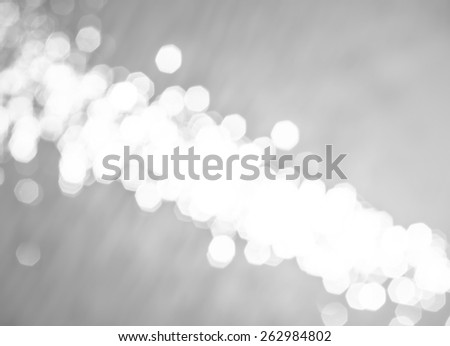 Black and white color blurry of bokeh background on morning time at the swimming pool - stock photo