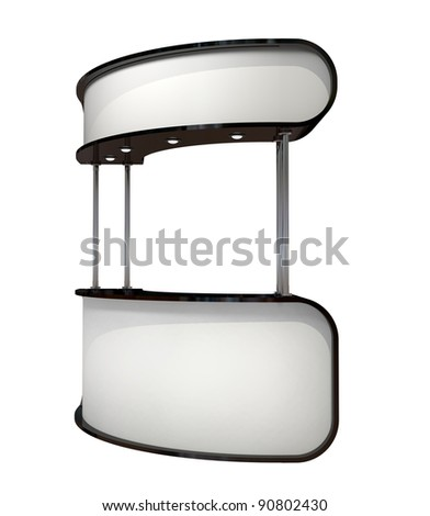 black and white counter - stock photo