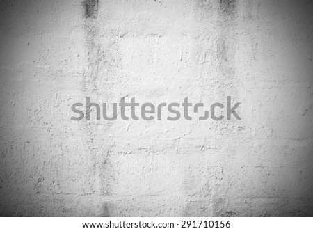 Black and White grunge brick wall background for any design - stock photo